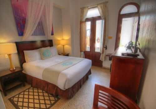 Old San Juan Best Hotel CasaBlanca Hotel in Old San Juan Balcony Queen Room